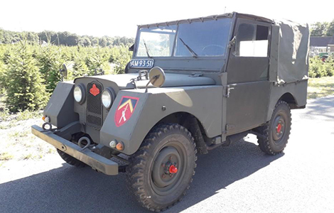 Land rover series 1 1951 minerva