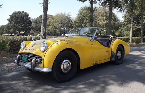 Triumph TR3 1958