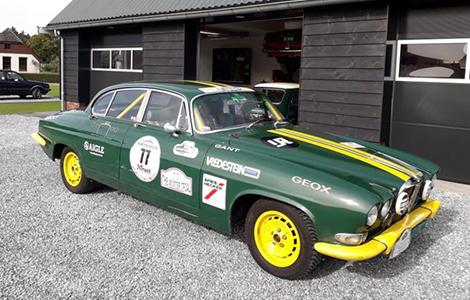 Jaguar rally MK10