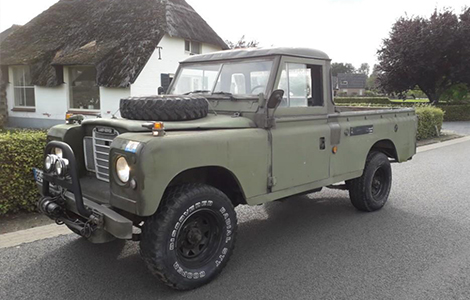Land Rover series 109 EX NL Leger Nekaf
