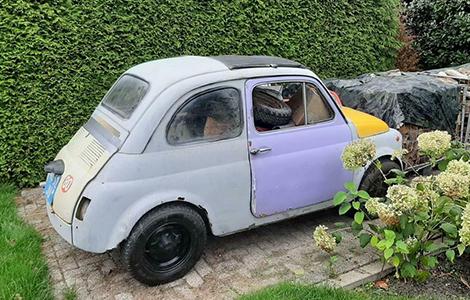 Fiat 500 1969 • 48-52-JU