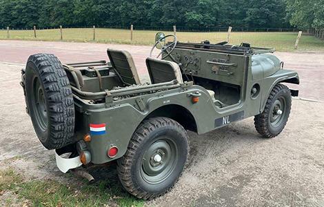 Leger voertuig Nekaf Jeep 1956