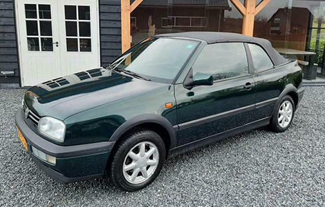 VW Golf cabriolet 1994 • HS-PS-36