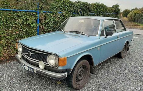 Volvo 142 B20 LPG 1972 • 77-YB-84