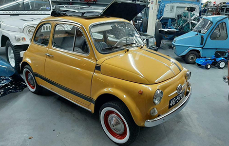 Fiat 500 1972 Geel • 40-57-UD