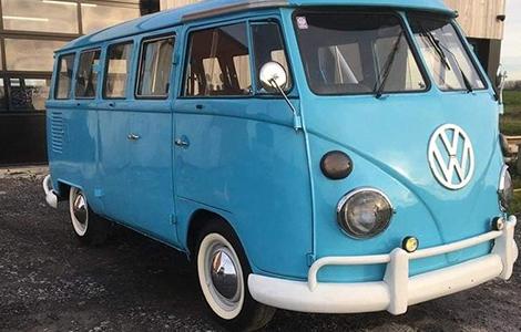 Volkswagen T1 busje gerestaureerd