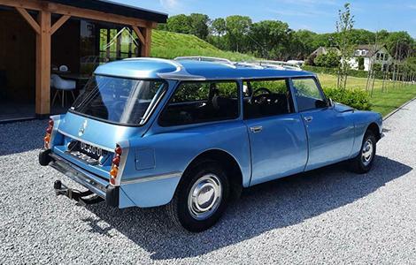 Citroën DS Break familiale uit 1972 DE-60-01